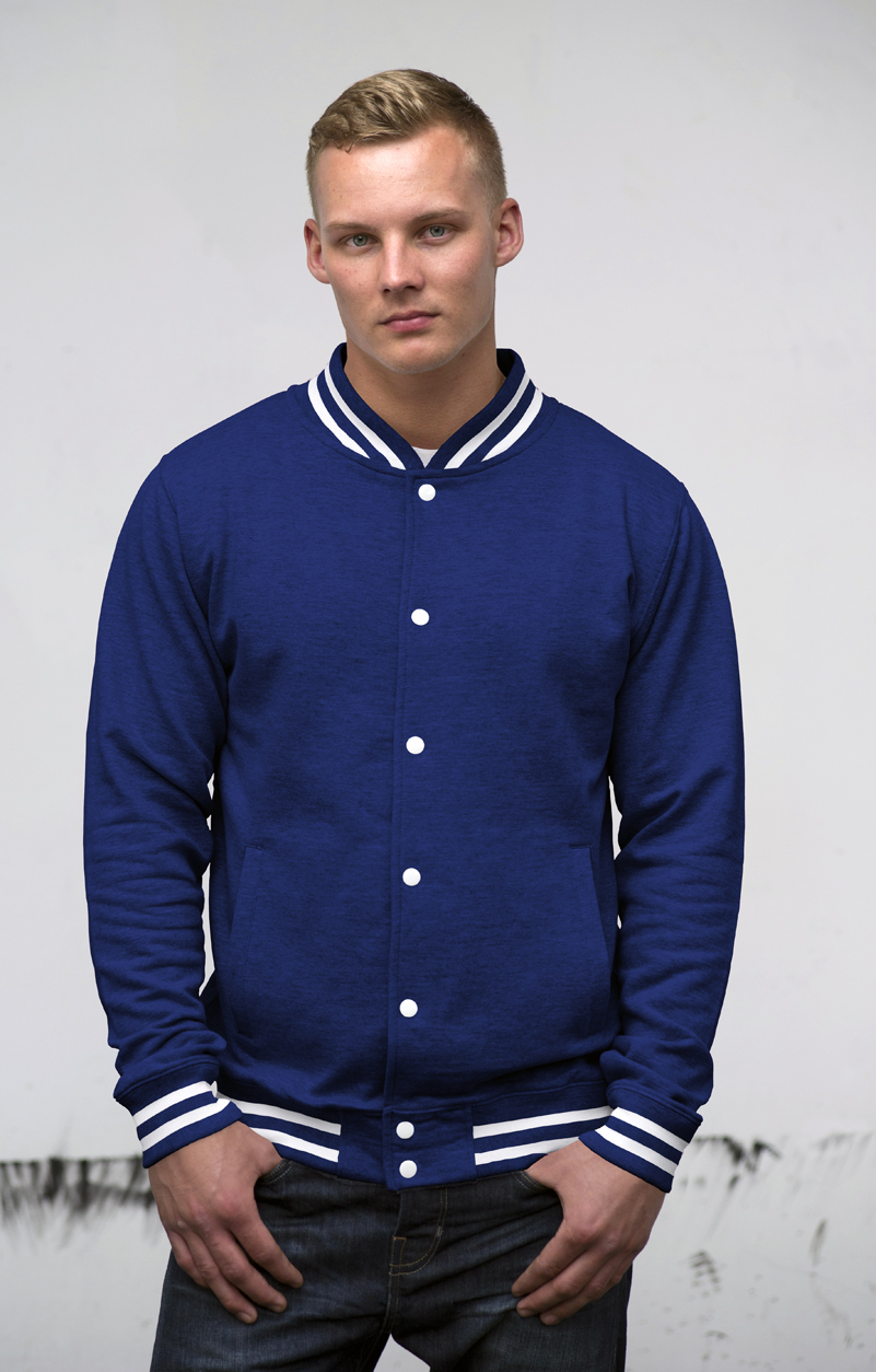 AWDis College Jacket JH041 Royal Blue