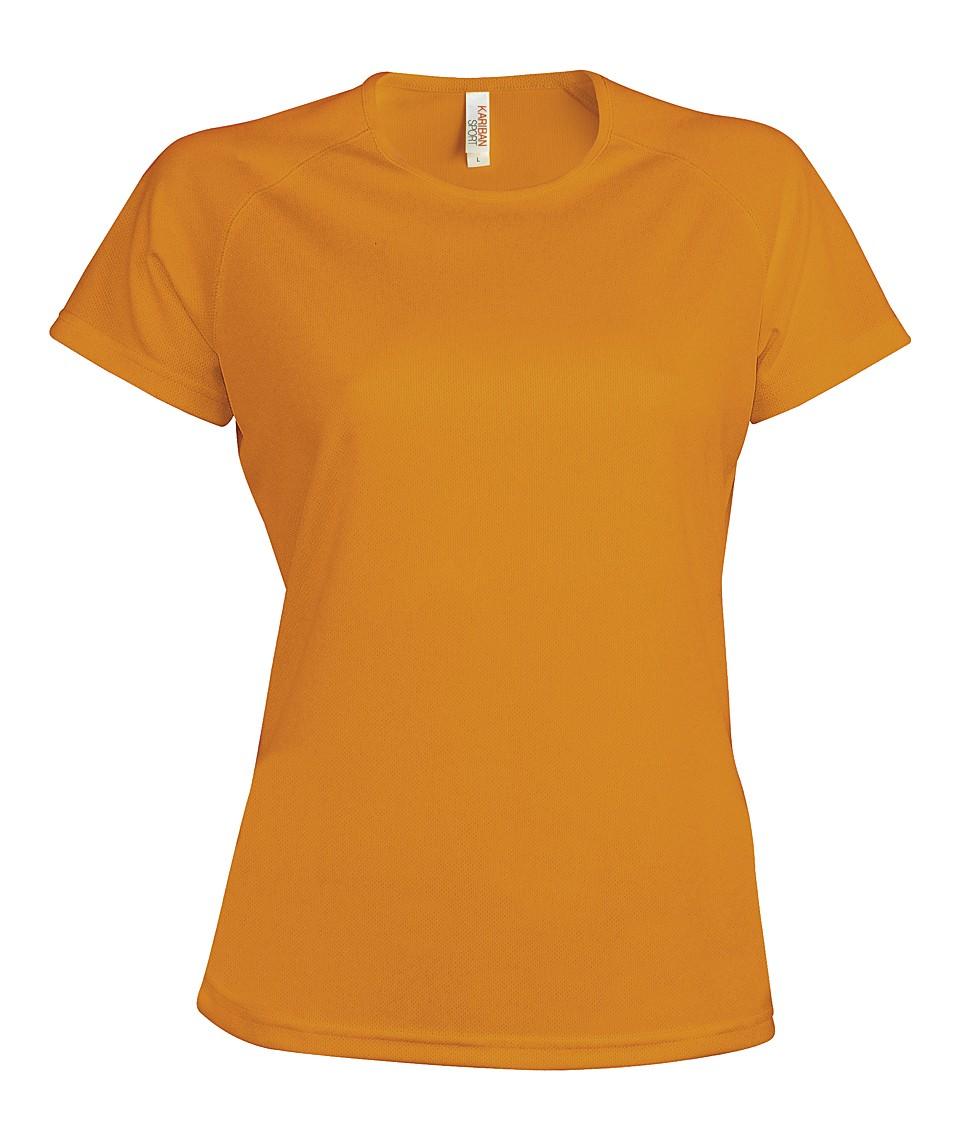 Heren Sport T-shirt KS030 Orange