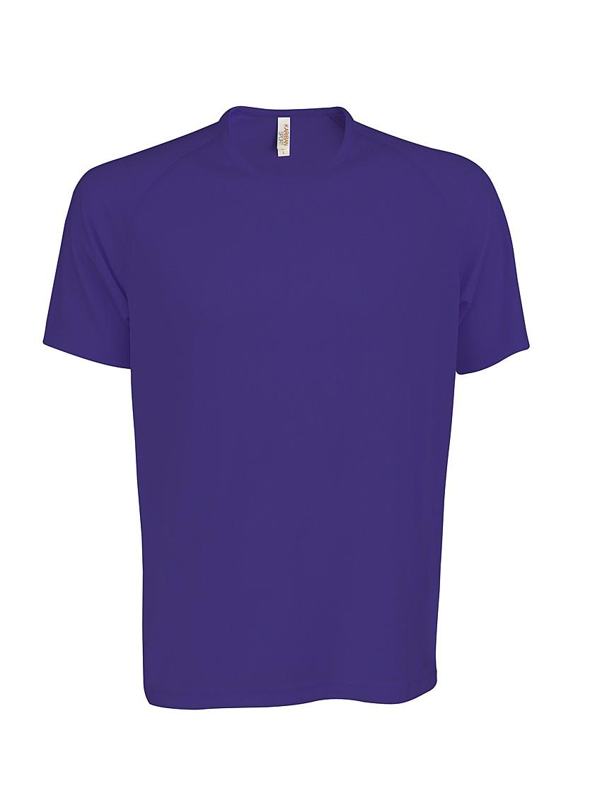 Heren Sport T-shirt KS017 Violet