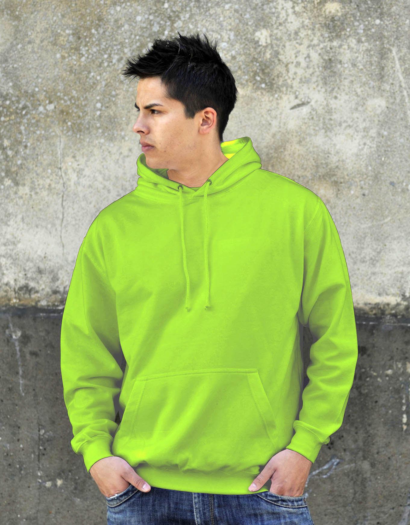 AWDis JH001 College hoodie Alien Green