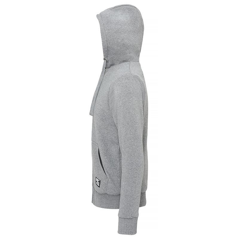 Affordable Fashion Sherpa fleece lined zip hoodie zijkant