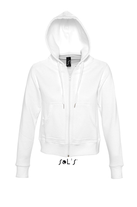 Sols Success Zip Hoodie sweater White