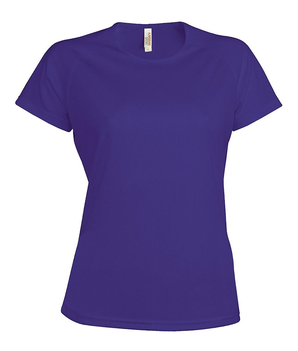 Heren Sport T-shirt KS030 Violet