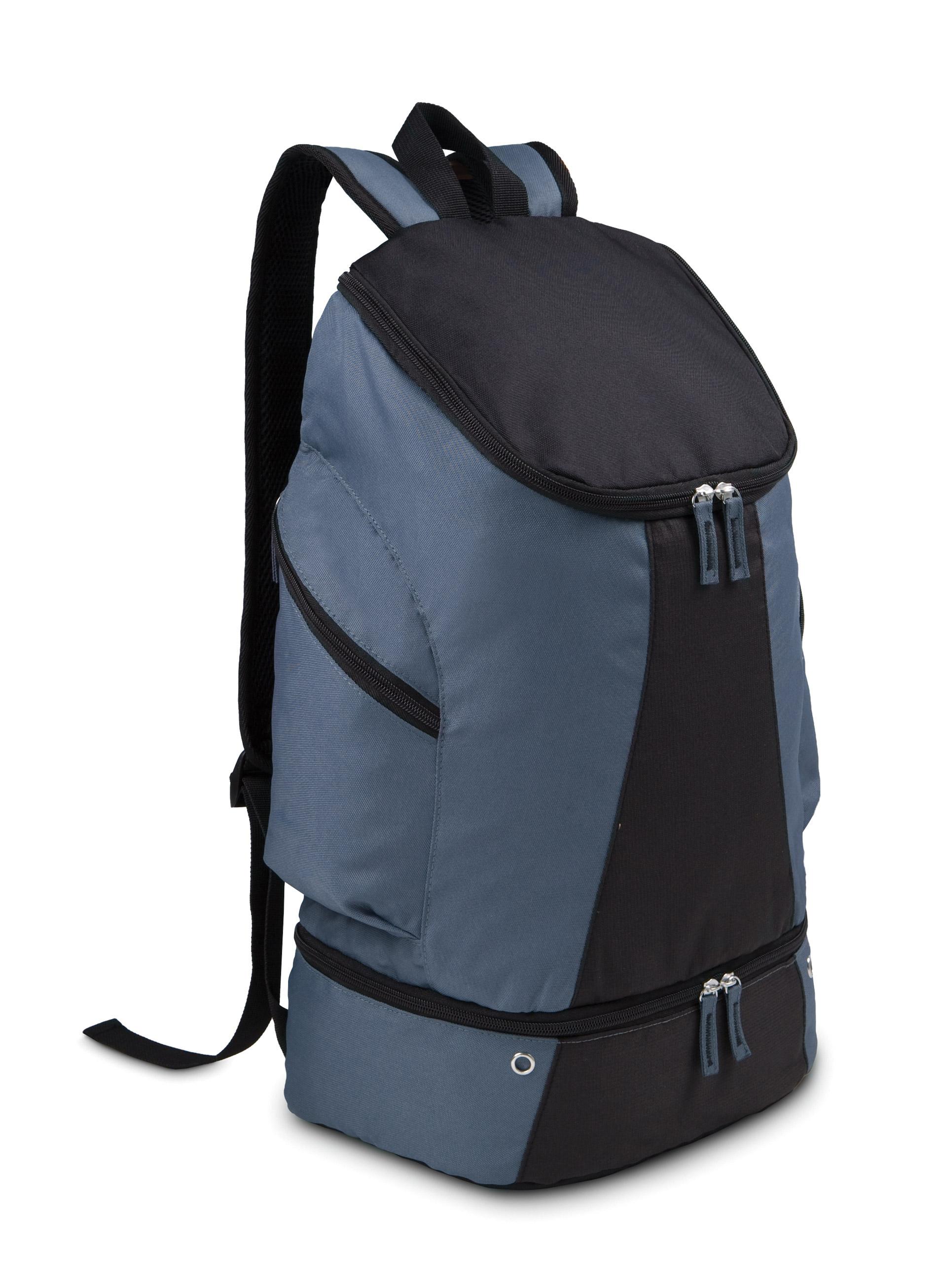 Petrol blauw / Black ki0102