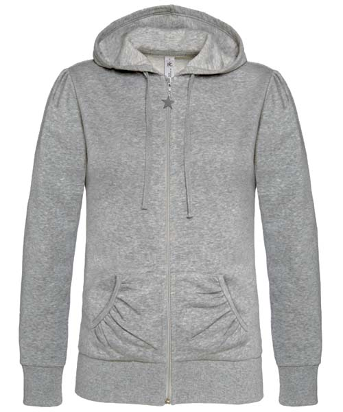 B-C Wonder Women Dames hoodie Heather Grey
