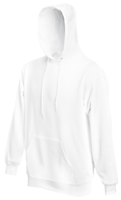 Fruit of the Loom hoodie sweater SC244C White