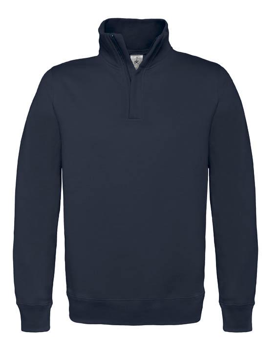 BC Sweater met hoge kraag Navy