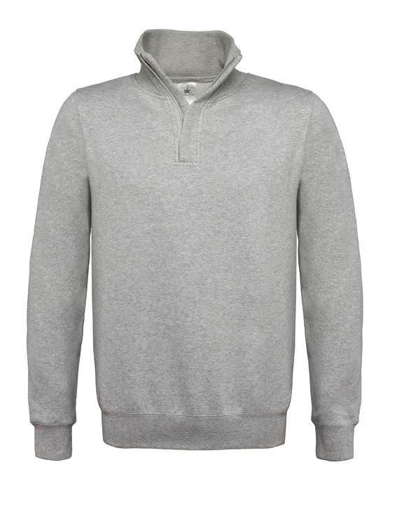 BC Sweater met hoge kraag Grijs