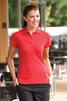 H306 HENBURY H306 LADIES STRETCH POLO