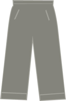 SP 102 Heren Kuitbroek Light Khaki