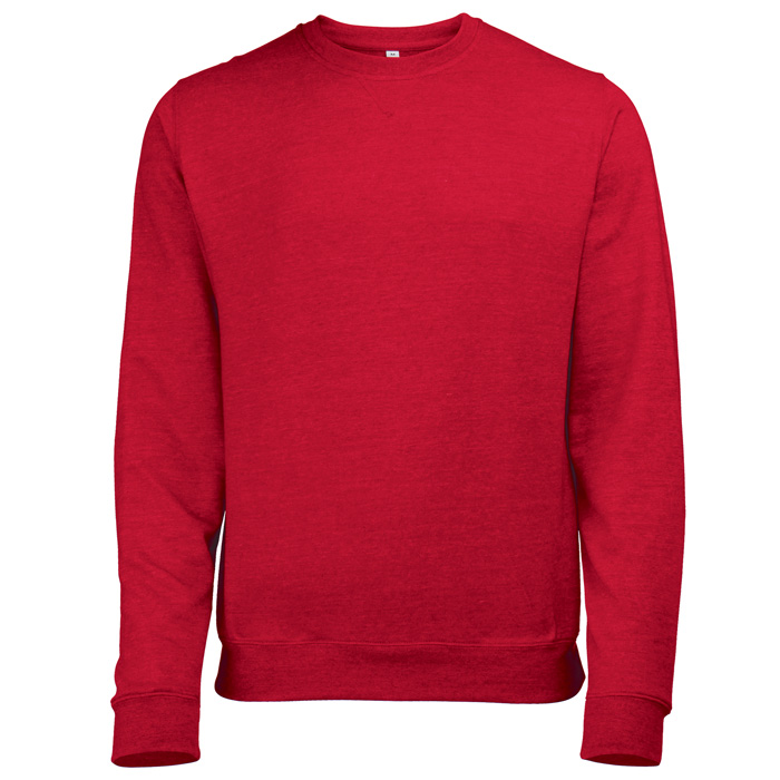 AWDis Heather Sweatshirt red