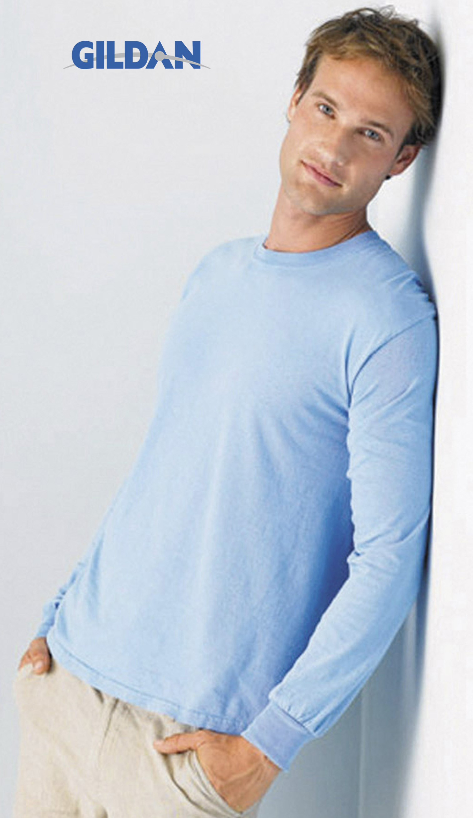 T-shirt met lange mouwen zware kwaliteit