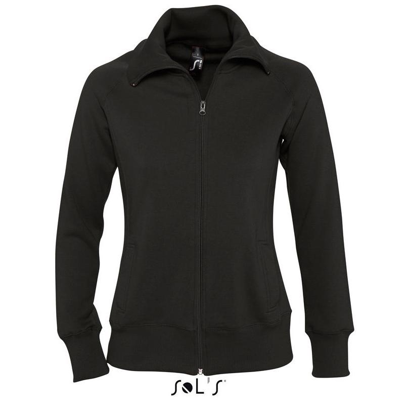 Sol's Soda Dames Zip Sweater black