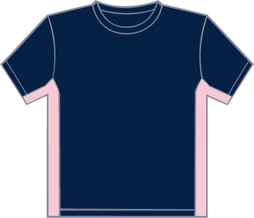 K340 Navy - Pink