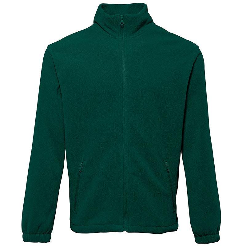 Full zip fleece vest met rits