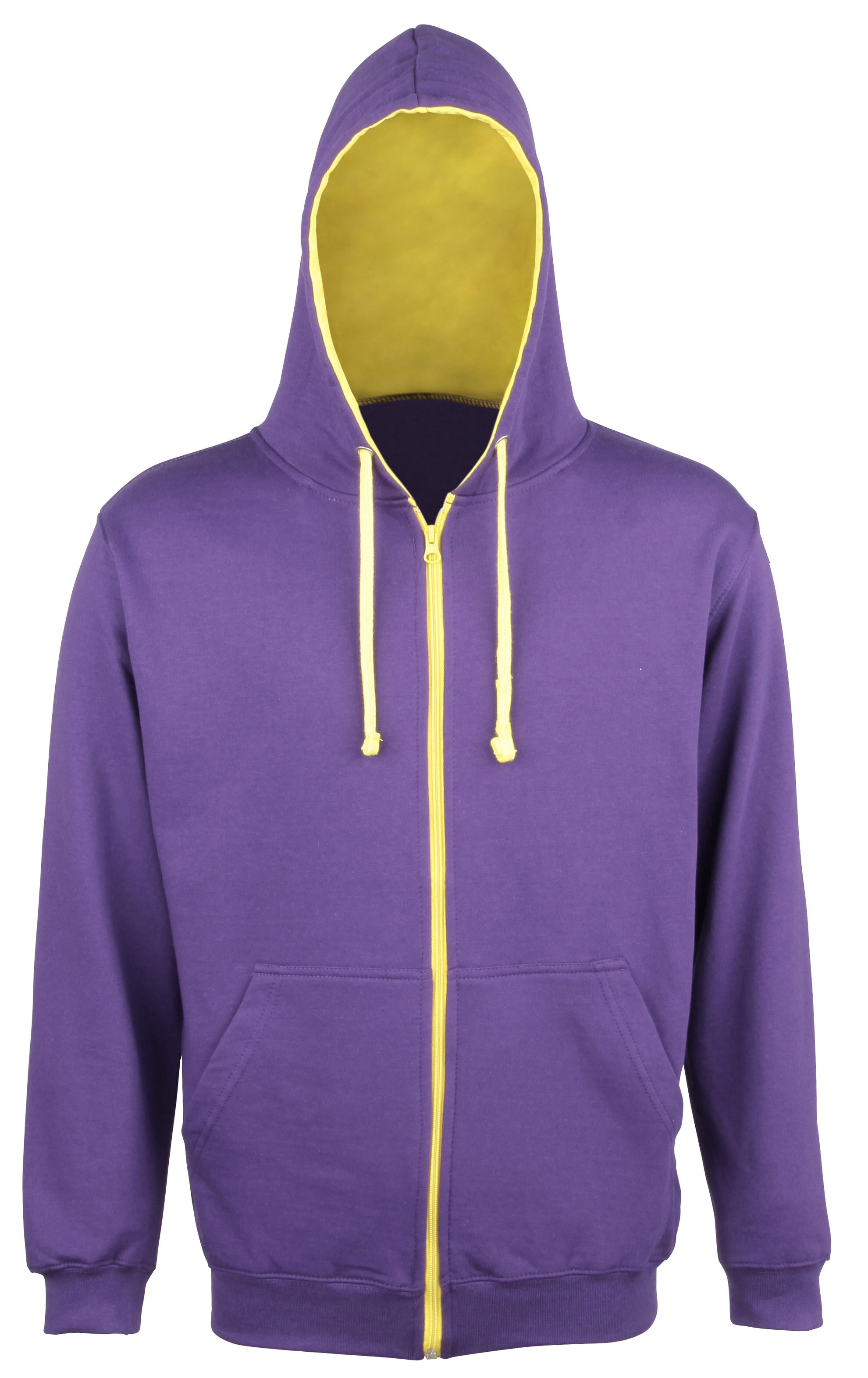 Paarse hoodie