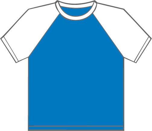 K330 Aqua Blue - White