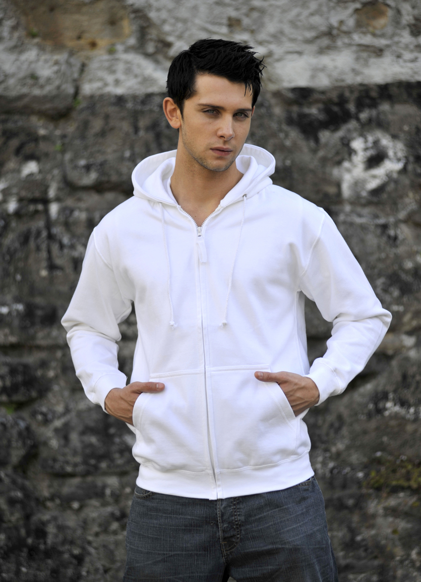 AWDis Zoodie JH050 hoodie Arctic White