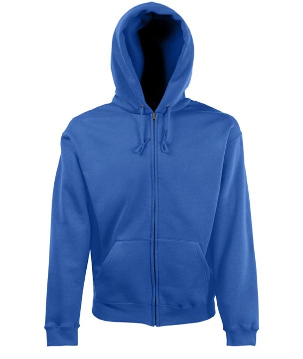 Fruit of the Loom Zip hoodie sweatshirt SC361C Royal Blue