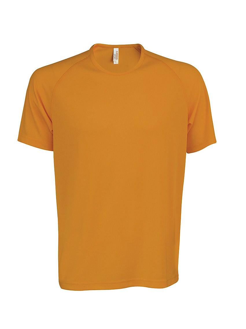 Heren Sport T-shirt KS017 Orange