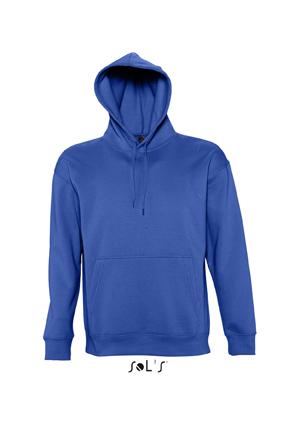 Sols Slam Unisex Hooded Sweater Royal Blue