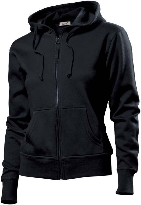 Hanes Spicy dames hoodie 6510 Black