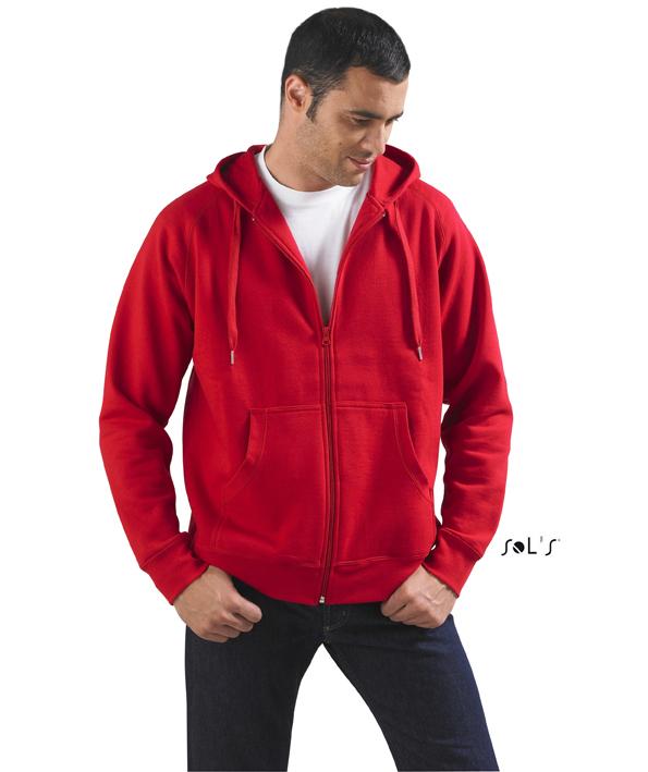 Sols Story Zip Hooded sweater met rits