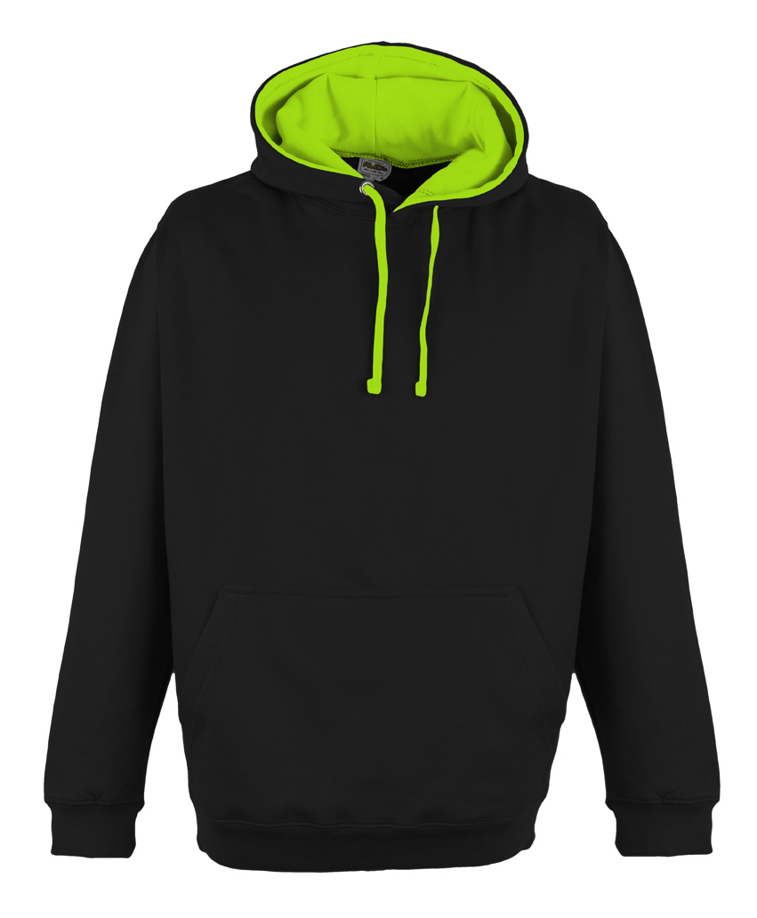 JH013 Jet Black - Electric Green