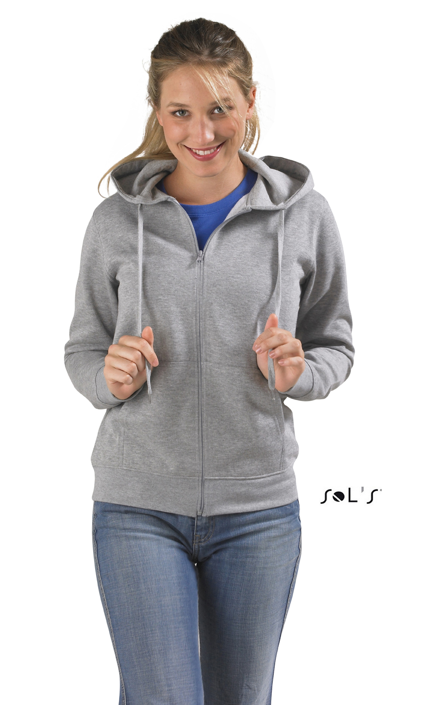Sols Seven Women Zipped dames hoodie