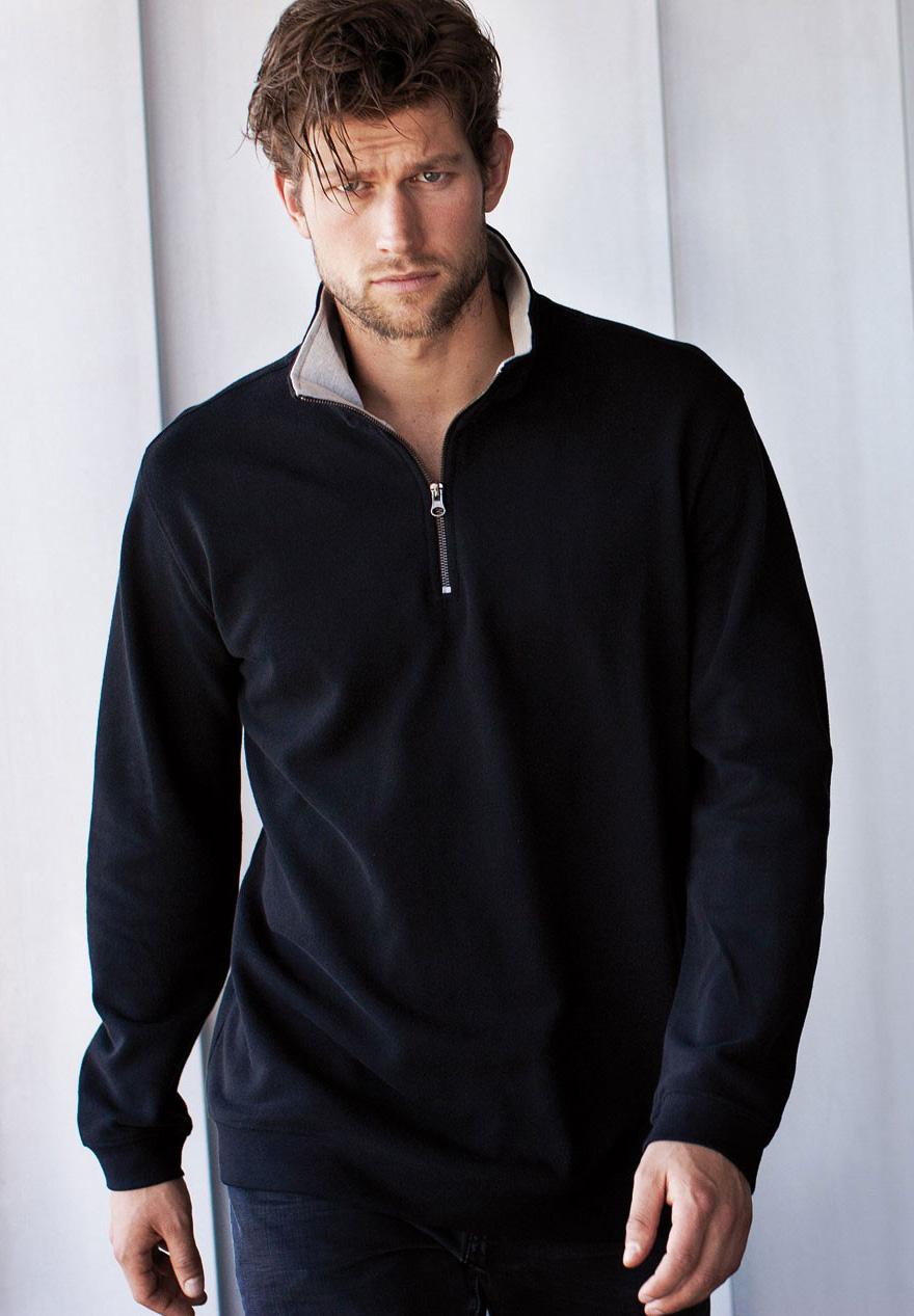 Kariban Trucker Zipneck sweater vest K206 foto 2