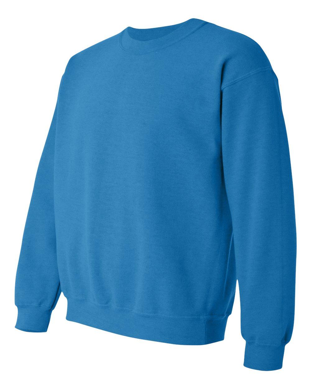 Gildan Heavy Blend Crew Neck sweater GI18000 Antique Sapphire Blue