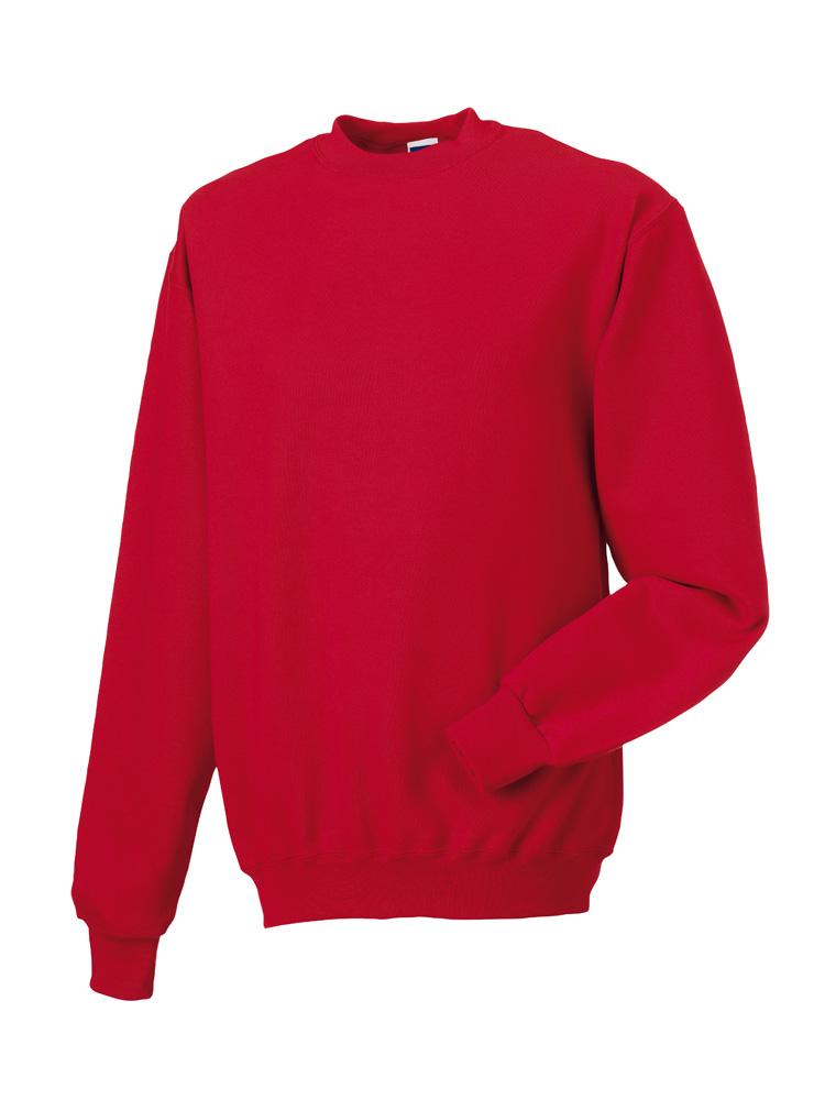 Russell Gold Label Set-in Sweater RU162MC Classic Red