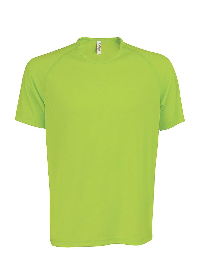 Heren Sport T-shirt KS017 Lime