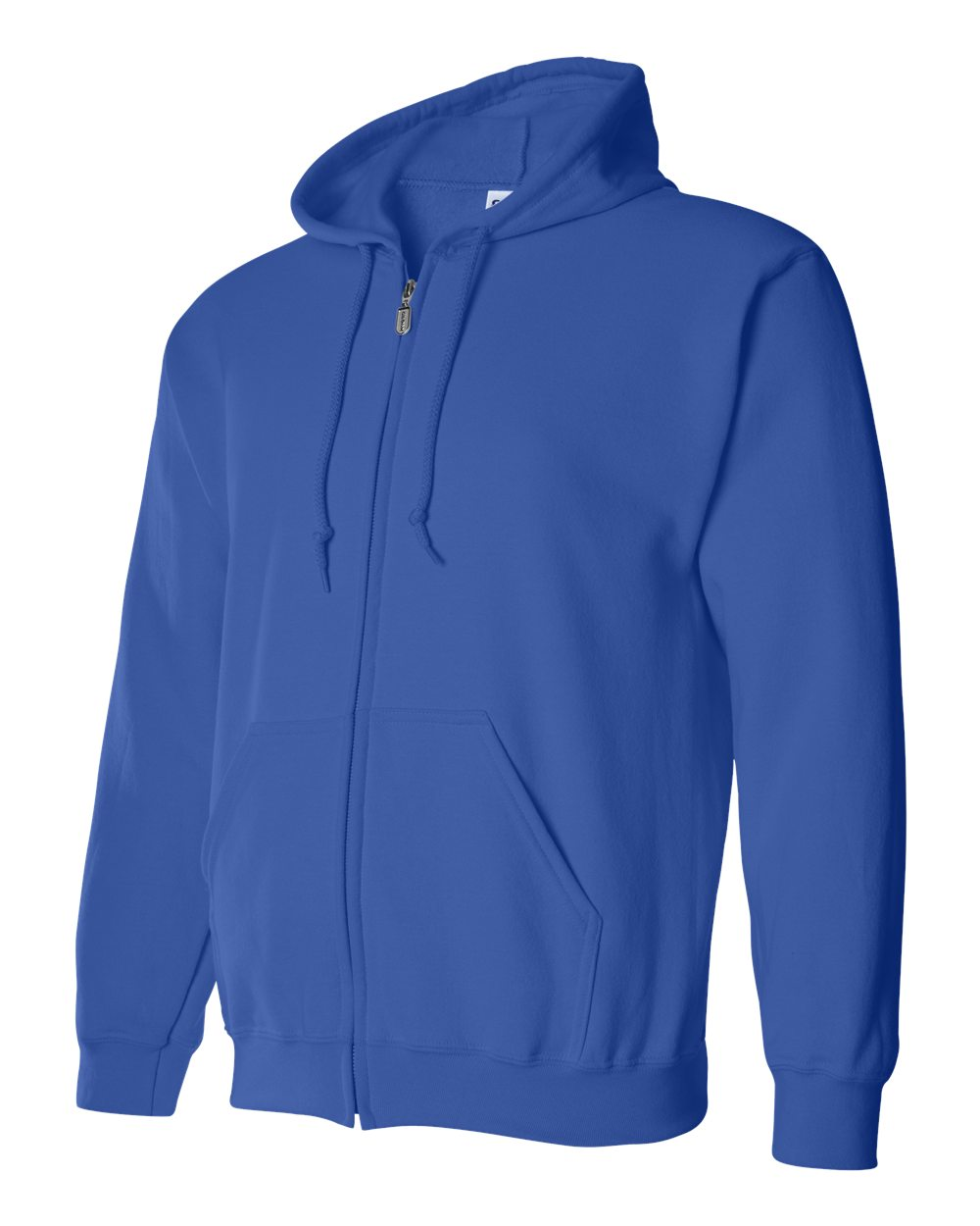Gildan Heavy Blend Full Zip Hoodie GIL18600 Royal Blue