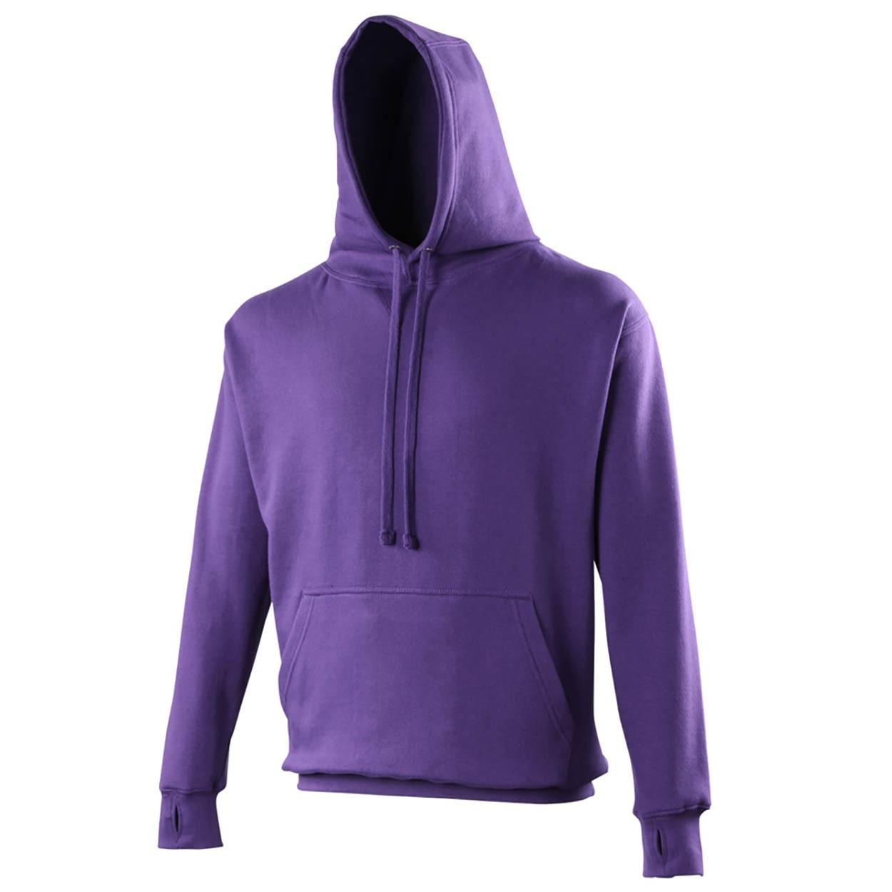 AWDis Hoods Street hoodie paars