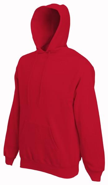 Fruit of the Loom hoodie sweater SC244C Red
