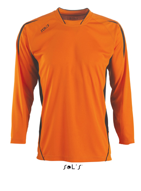 Sols Maracana LS Kids Orange - Black