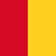 overgooier rood geel