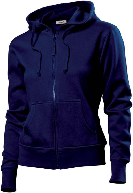 Hanes Spicy dames hoodie 6510 Dark Navy