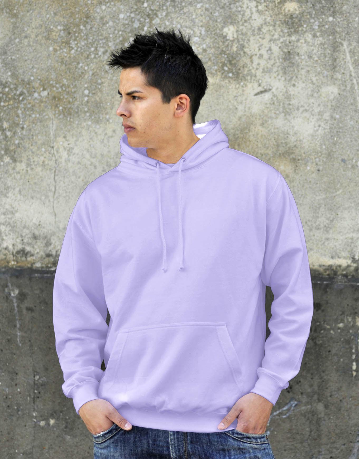 AWDis College Hoodie Lavender