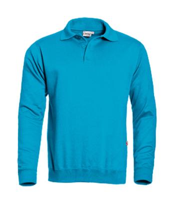 Santino Polo sweater Robin Aqua