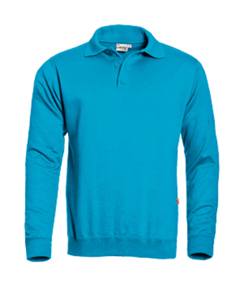 Santino Polo sweater Robin Aqua