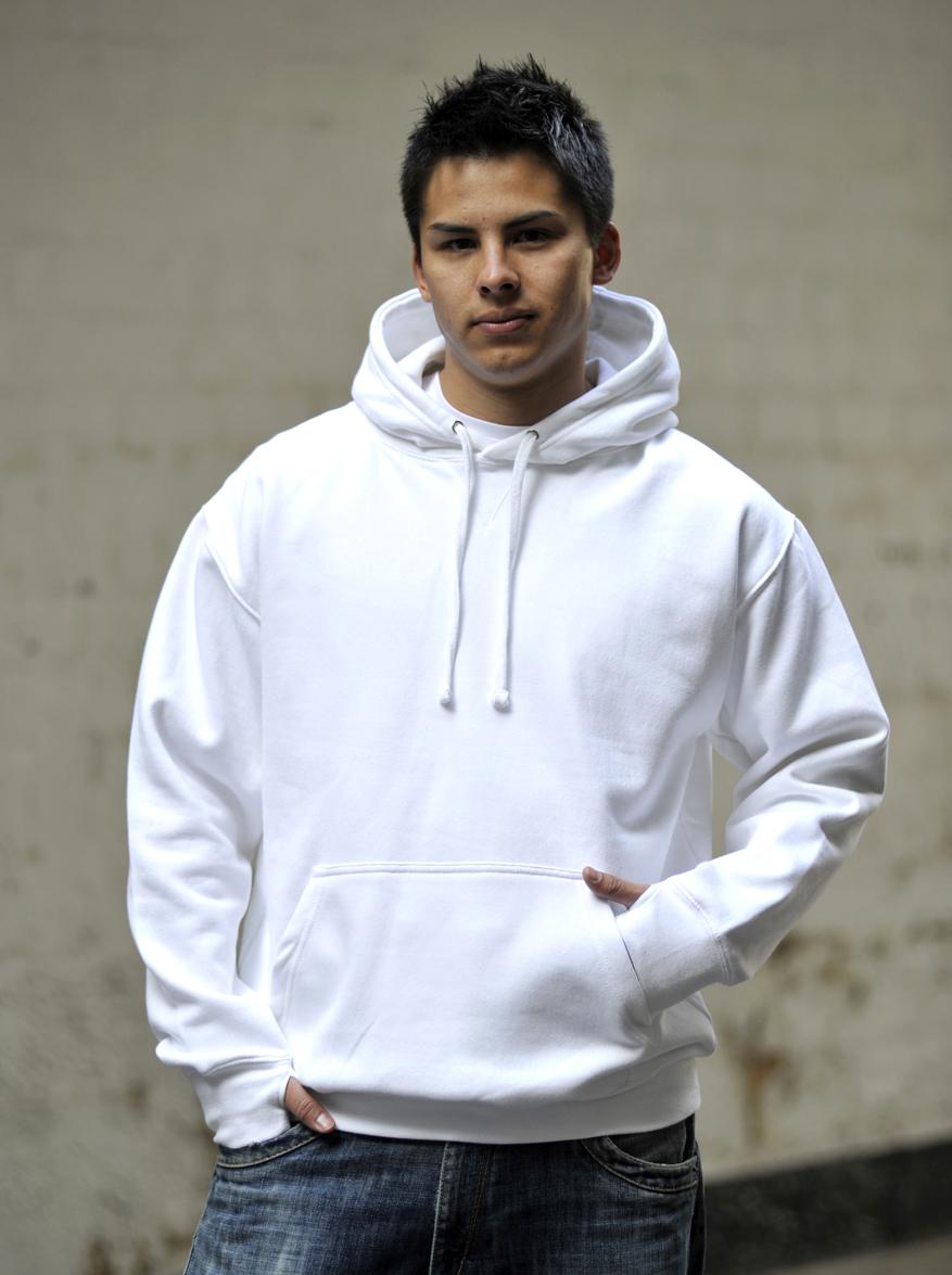 AWDis Street Hoodie JH020 Arctic White