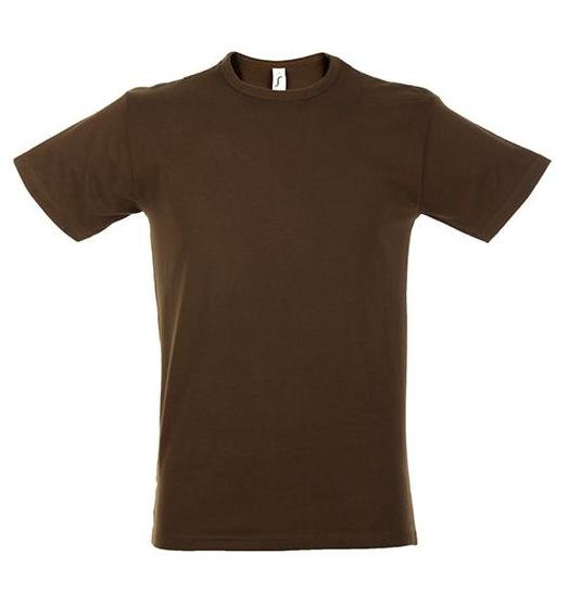 Sols Milano t-shirt chocolate