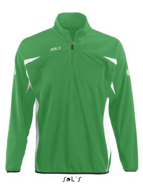 Sols Bernabeu Sweater Bright Green - White