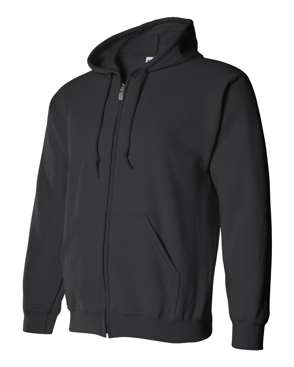 Gildan Heavy Blend Full Zip Hoodie GIL18600 Black