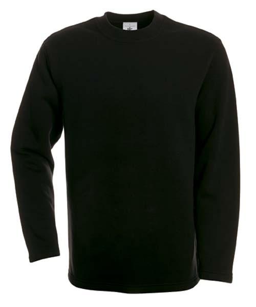 BC Open Hem sweater Zwart