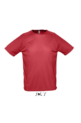 Sols Sporty sportshirt Red
