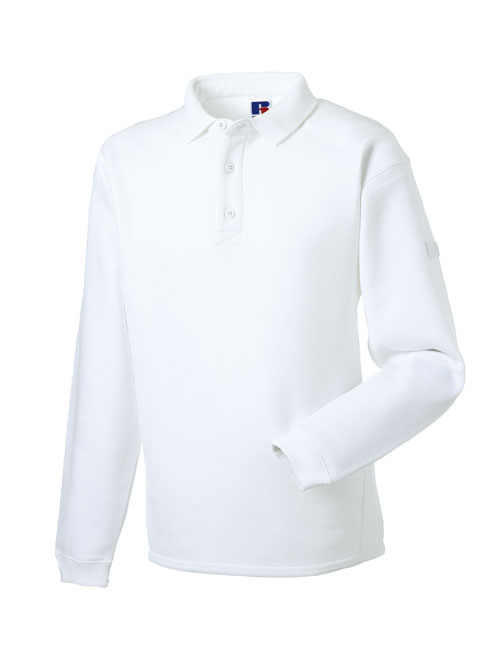 Russell Workwear Polo sweater RU012M White