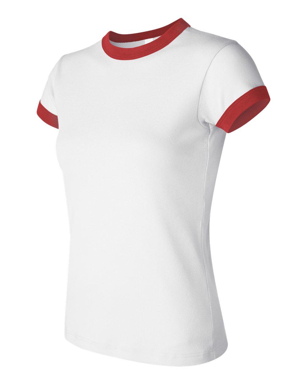 Bella 1007 White - Red